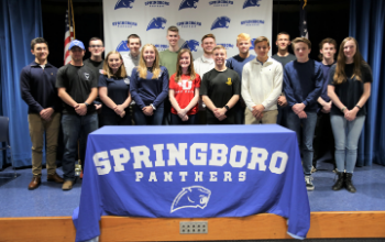 SHS Military Signing Day