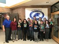 Superintendent Presents SJHS Students with Novels