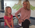 "Local TV Show, ""Springboro 45066,"" Visits Dennis Elementary"