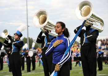 Springboro Marching Band and Color Guard