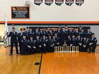 SHS AFJROTC Delaware County Drill Meet