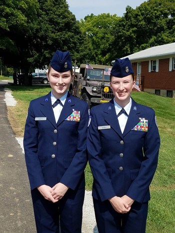 SHS AFJROTC Cadets Purple Heart Event