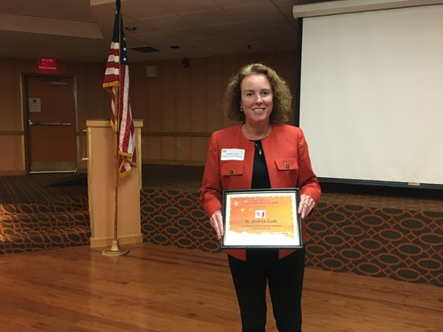 Andrea Cook Director Of Instruction Receives Hstw Award