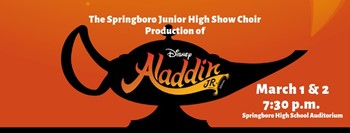 Disney's ALADDIN Jr. - SJHS Choir