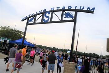 Watkins Stadium Sign