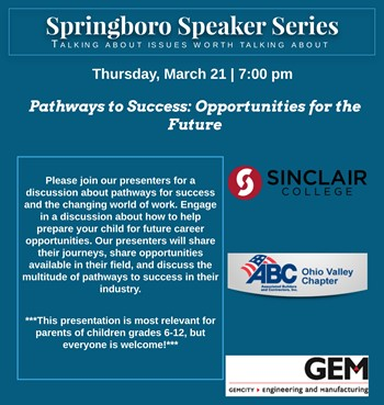 Springboro Speaker Series