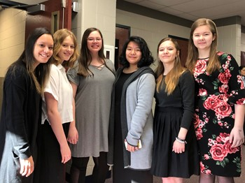 SJHS Choir Students