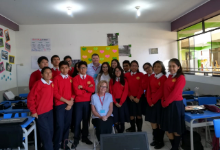 Deb Covey in Peru