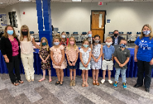 Five Points Elementary Students