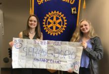 SHS Students at Rotary Club