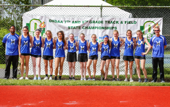 SJHS Girls' Track Team