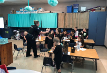 SRO Visits Students