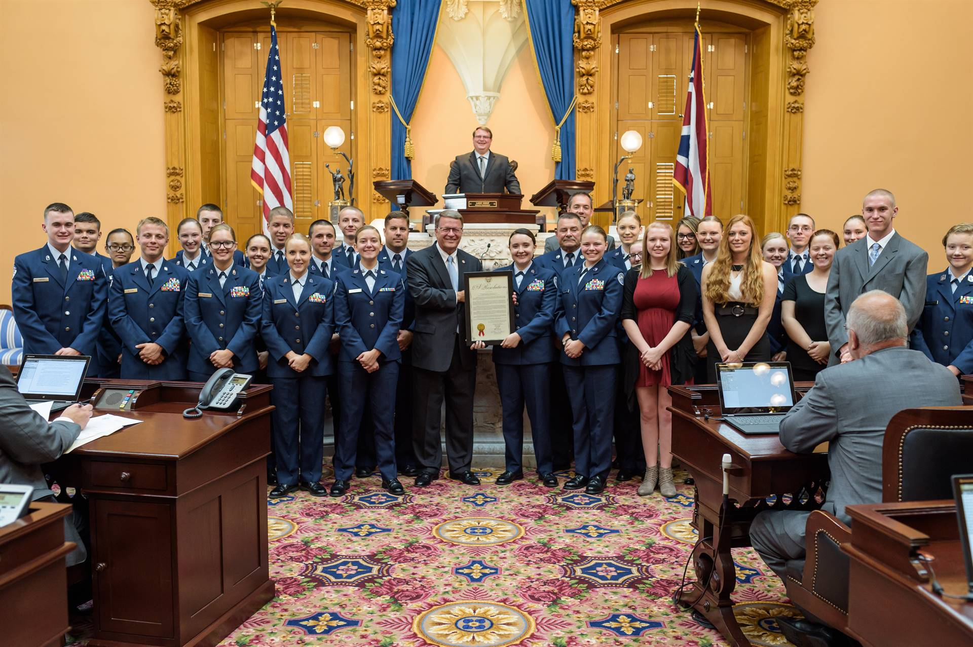 JROTC at Statehouse
