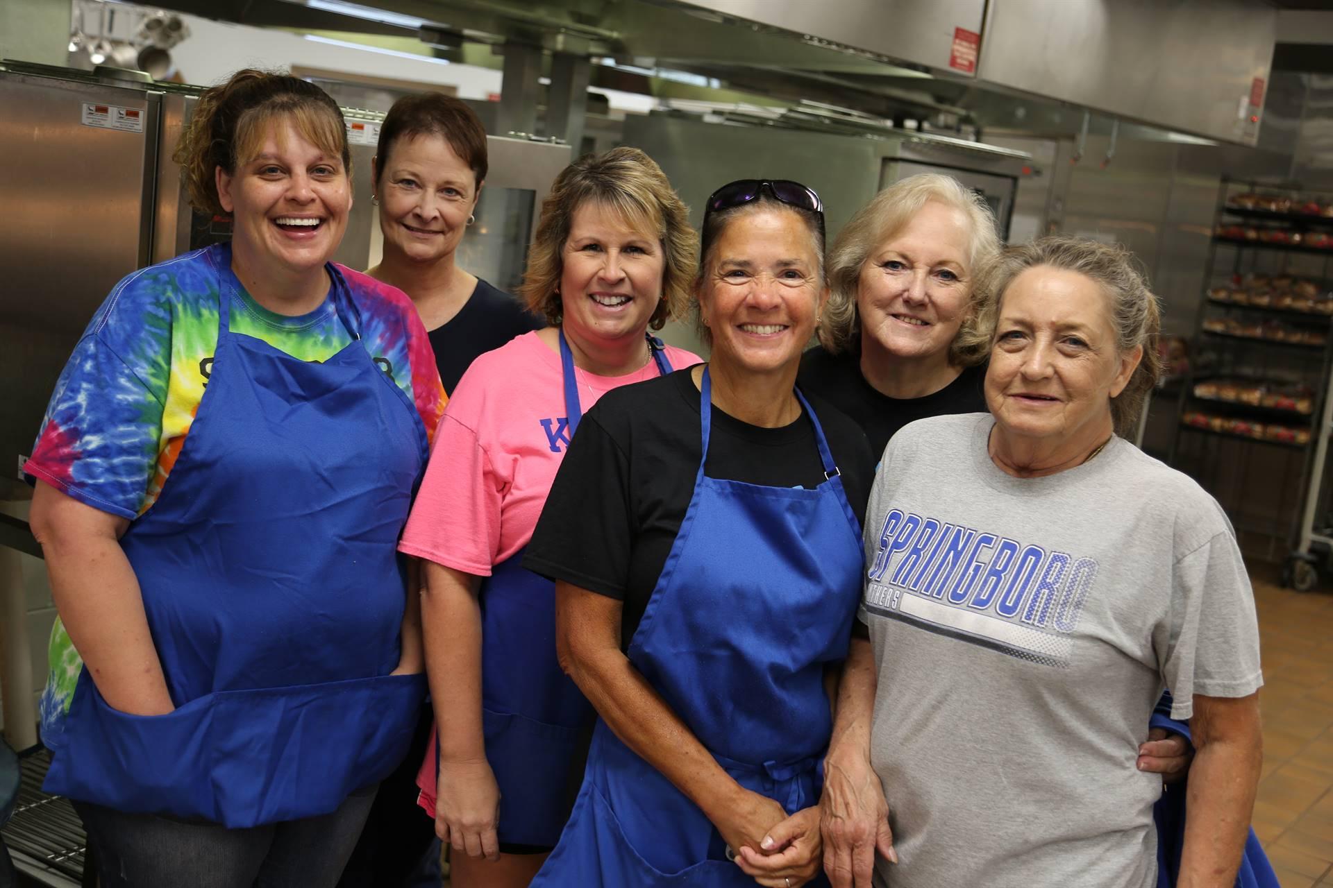 SHS Kitchen Staff