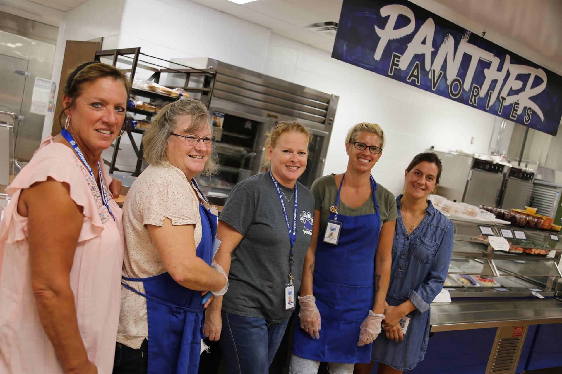SJHS Kitchen Staff
