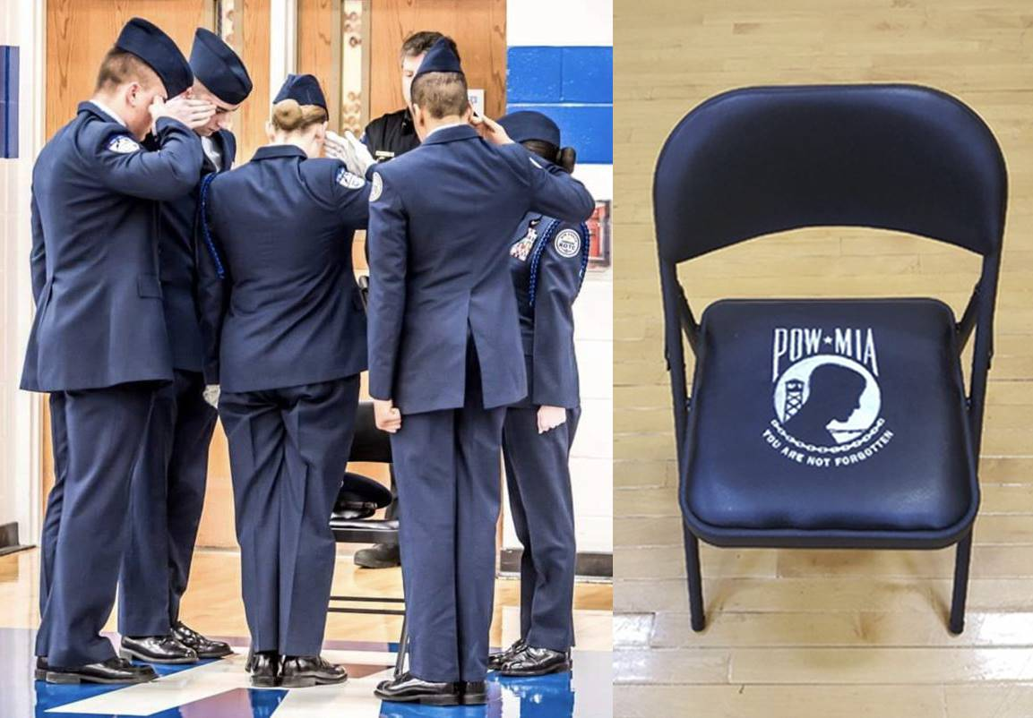 POW MIA Chair